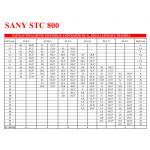Guindastes Sany STC 800  80 Toneladas